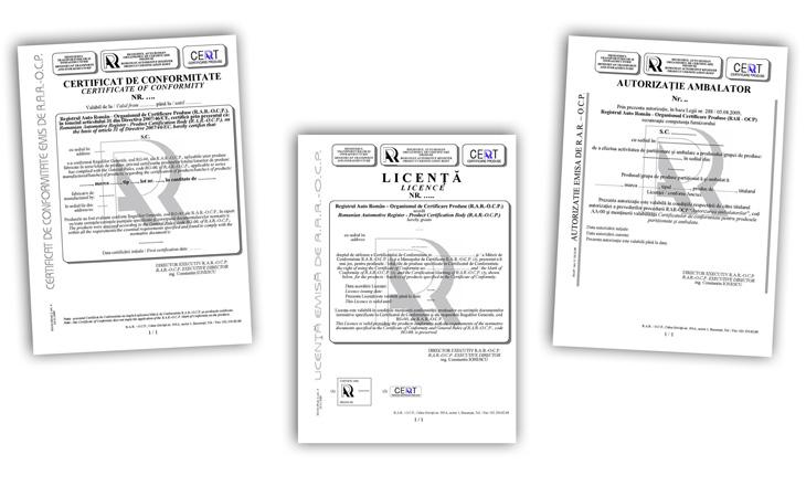 Products Certification Body Romanian Automotive Register